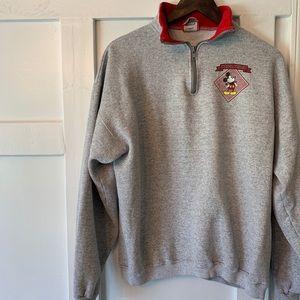 Disney Vintage pull over sweatshirt